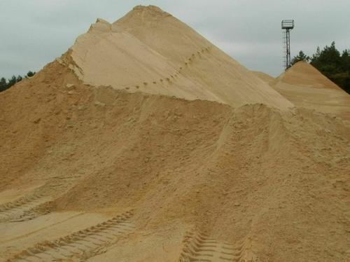 Карьерный песок в Подольске